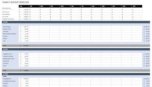 Easy Monthly Budget Template Personal Expenses Spreadsheet Sample Monthly Budget Template