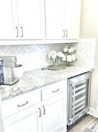 Backsplash Ideas For White Cabinets Kitchen Tile Ideas With White