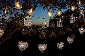 lighting idea. Appealing Backyard Lighting Idea With Solar And LED Lights For Luxurious  Birthday Party Lighting Idea