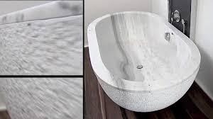 JUMA Exclusive - Die maßgefertigte Naturstein-Badewanne - YouTube