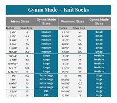 Sock Knitting Foot Size Chart Large Knit Socks