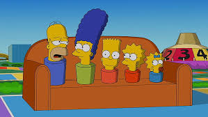 the simpsons homer simpson marge