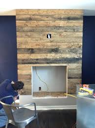 diy electric fireplace reclaimed wood electric fireplace how to create a reclaimed wood fireplace surround for