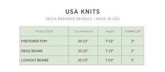 Size Guide Skida