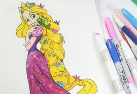 Small Picture Rapunzel coloring book Tangled coloring pages for kids YouTube