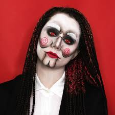 jigsaw costume contact lenses billy the puppet cosplay