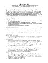 Epic Example Of A Oilfield Consultant Resume Sample Senior It P Sevte
