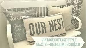 Vintage Cottage Style| Master Bedroom Decor| 2017   YouTube