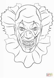 Pennywise The Clown Coloring Pages Printable Coloring Page For Kids
