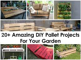 Diy Pallet Projects 20 Amazing Diy Pallet Projects For Your Garden