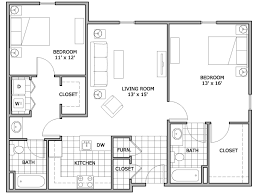 Studio 1 U0026 2 Bedroom Apartments In Seattle WA  Verse SeattleApartments Floor Plans 2 Bedrooms