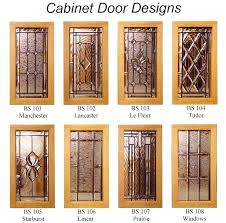 cabinet door glass cabinet door insert