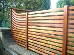 horizontal fence styles. Horizontal Fence Cost Privacy Ideas Awesome Modern . Styles W