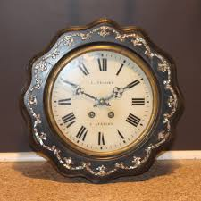 19th c french wall clock