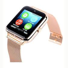 <b>Z60 Smart Watch</b> SIM Supported Mobile Watch Stainless Steel iOS ...
