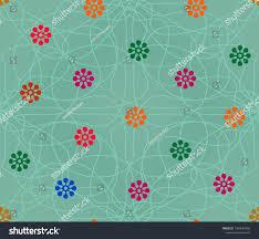 Small Buti Design Small Buti Outline Stock Illustration 1284687283