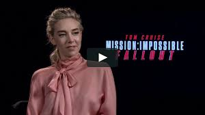 Vanessa Kirby Interview - Mission ...