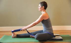 The pose itself is much older, but was known by other names. Janu Sirsasana Head Of The Knee Pose Hugger Mugger