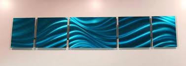 ocean blue aluminum modern abstract metal wall art sculpture cheap uk on modern abstract metal wall art uk with ocean blue aluminum modern abstract metal wall art sculpture cheap