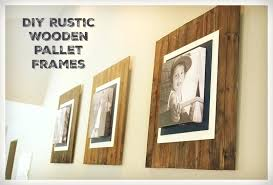 rustic wooden picture frames hxckinub