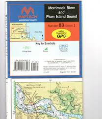 Maptech Waterproof Charts Maine Details About Maptech Waterproof Chart Number 83 Edition 1 Merrimac River Plum Island Sound