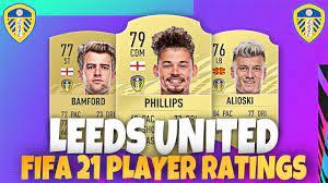 FIFA 21 LEEDS UNITED RATINGS! 😱🔥  FT PHILLIPS, ALIOSKI, BAMFORD AND MORE!  - YouTube