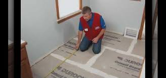 how to install a ceramic or porcelain tile floor with lowe s construction repair wonderhowto