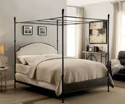 Sinead Gunmetal Cal.King Canopy Bed