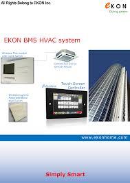 Simply Smart Light Switch Ekon Bms Hvac System Manualzz Com