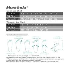 Us Foot Size Chart Amazon Com Monrinda Lightweight Running Shoes For Men Air