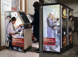Vending Machine Vinyl Wrap Magnificent Atm Machine And Vending Machine With Graphics Or Wraps Brilliant
