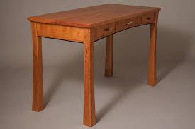custom cherry writing desk with drawers by joseph murphy furniture