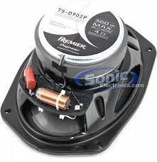 pioneer 6x9 speakers. product name: pioneer premier ts-d902p 6x9 speakers
