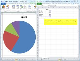 How To Add Text To Pie Chart In Word How To Add A Pie Chart In A Word 2010 Document Daves