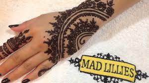 affordable henna design at mad lillies salon dubai motorcity with dubai mehndi designs