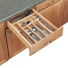 Kitchen Drawer Inserts Ikea Amazoncom Rev A Shelf Cutlery Trim 2 7 8 X 20 5 8in Wood