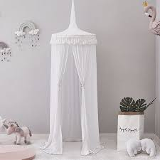 US $31.56 33% OFF|Baby Toy Tent Kid Play Tent Princess Teepee Canopy Bed Curtains Hanging Dome for Kids Indoor Girls Play House for Child-in Toy Tents ...