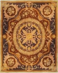extra large vintage savonnerie rug bb5125