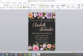 Microsoft Invitation 017 Microsoft Word Wedding Invitation Templates Template Ideas