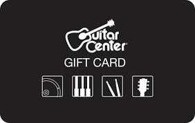 Guitar Center Gift Card | GiftCardMall.com
