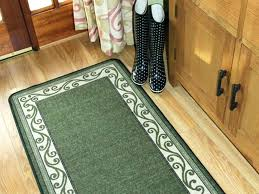 kitchen runners washable rag rugs target cotton kitchen carpet runners washable