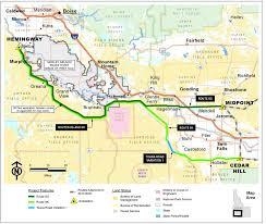 Idaho County Light And Power Blm Signs Off On Idaho Portion Of Gateway West Power Line