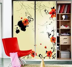 aliexpress com free new classcal ink glass window splashed paint colorful 2 piece s door stickersglass