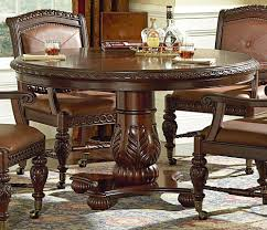 endearing 54 round dining tables 6 2812529208 04955 000008 scottsdale tble dk pecan119s