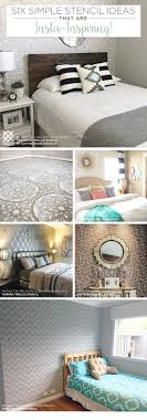 cutting edge stencils shares easy and affordable diy decorating ideas using stencil patterns