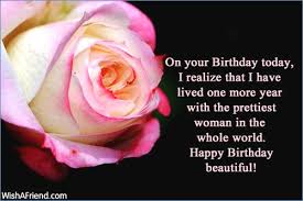 Happy Birthday To A Beautiful Woman Quotes Best of Happy Birthday To A Beautiful Woman Quotes Clickadoonet