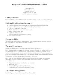 Resumes Objective Samples Mazard Info