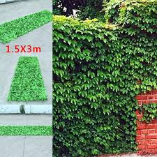 artificial hedge wall artificial ivy leaf hedge panels on roll privacy screen garden fence x