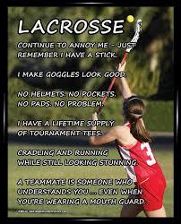 Lacrosse Quotes Adorable Lacrosse Girl On Field 48x48 Sport Poster Print Lacrosse Motivation