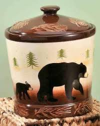 Rustic Cookie Jar